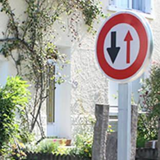 panneaux de police