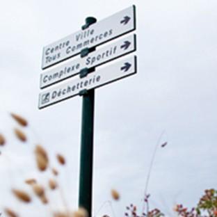 Signalisation d'information locale